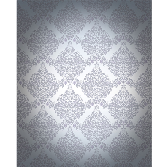 Grey Vignette Damask $225