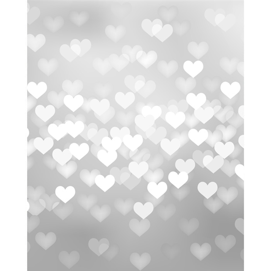 Hearts Backdrop $225